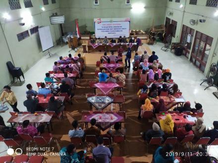 Rapat Pembubaran Panitia Seleksi Carik & Desa Siaga