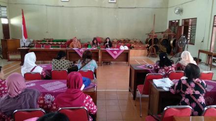 Pertemuan Kader Posyandu Desa Sumbermulyo