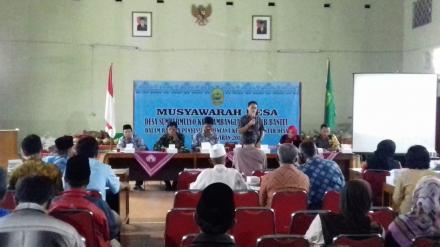 Musyawarah Desa Sumbermulyo Tn.2018