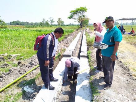 Opname pelaksanaan bangket dan talut Dana Desa tah